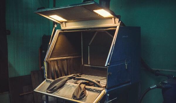 оборудование камера дробеструйной обработки минск