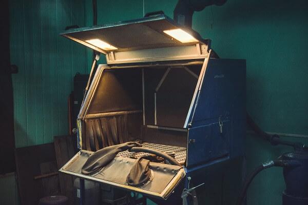 Камера дробеструйной очистки