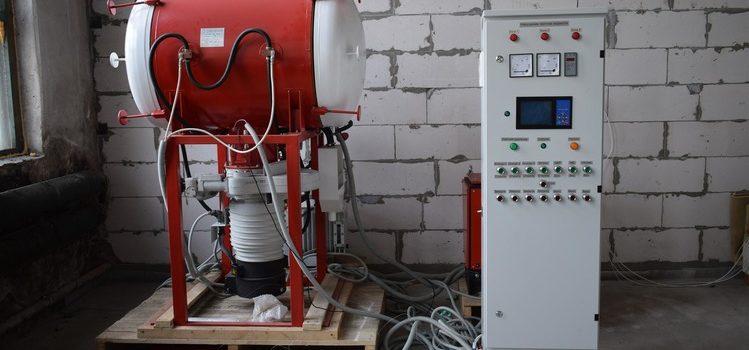 вакуумно-гориз. камерная печь(749-499)